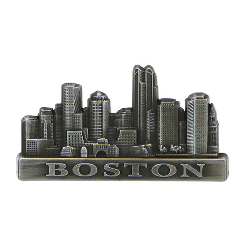 Metal Boston Magnet