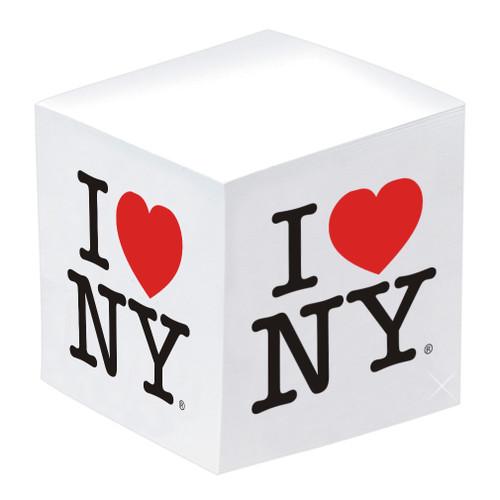 I Love NY Paper Cube