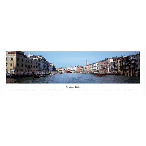Panoramic Venice Poster