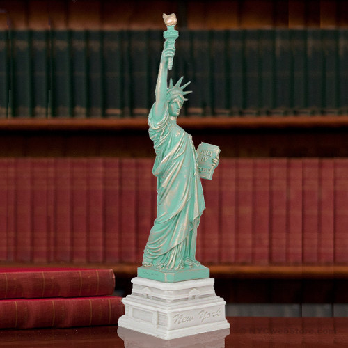14 Inch Statue Of Liberty Marble Statues
