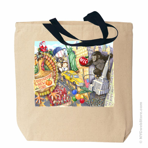 Macy's Thanksgiving Day Parade Tote Bag