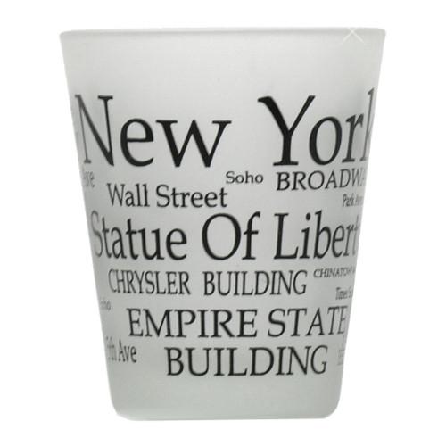 New York City Shot Glass Souvenir