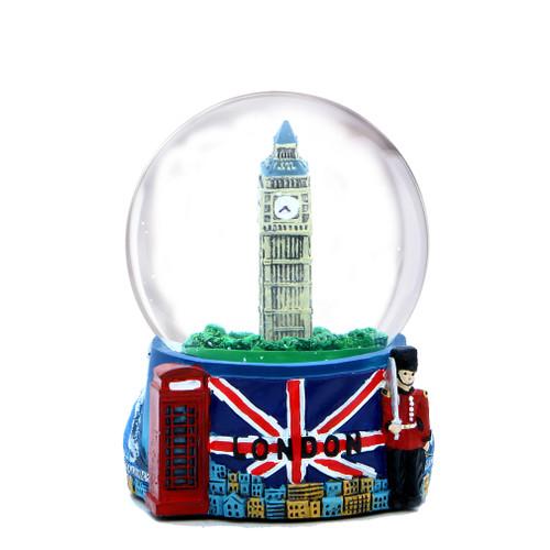 Colorful London Snow Globe