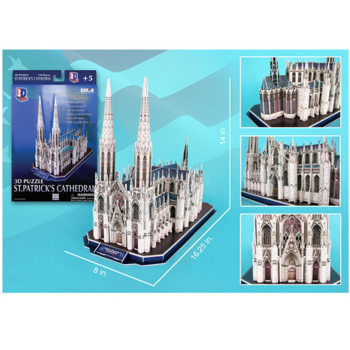 St. Patrick's Cathedral 3D Puzzle