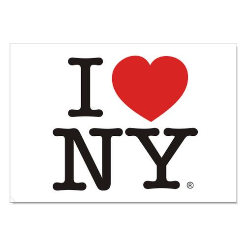 I Love NY Postcard