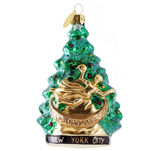 rockefeller center tree christmas ornament
