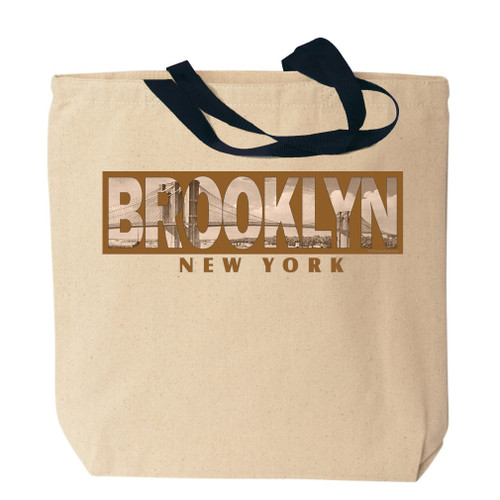 Brooklyn Photo Canvas Tote Bag
