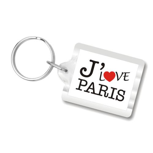 I Love Paris Key Chains, I Heart Paris