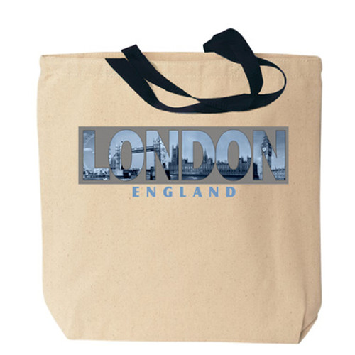 London Photo Canvas Tote Bag