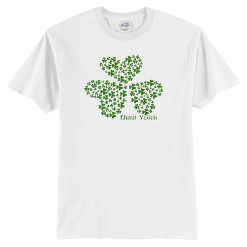 Shamrock T-Shirt with a hidden 4 leaf clover