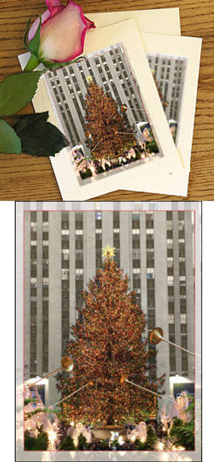 Rockefeller Center Tree Note Cards (Set of 6)