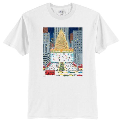 Rockefeller Center Art Scene Youth T-Shirt