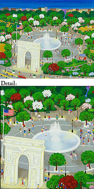 Washington Square Park Note Cards