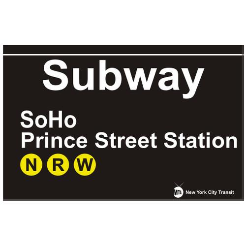 SoHo Replica Subway Sign