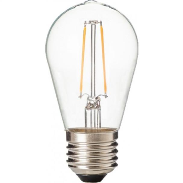 ZLight LED Filament ST14 Bulb - Clear - Day Light - 50K