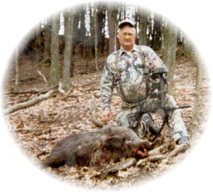 Vern With Boar