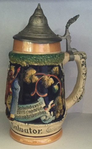 Full view of stein