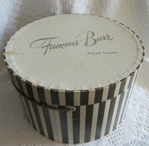 Famous-Barr Hat Box