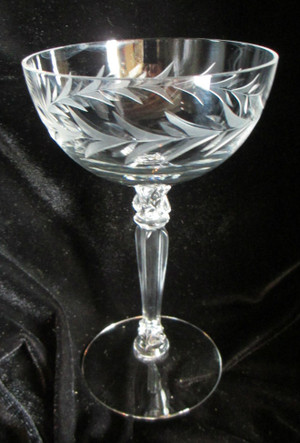 Fostoria Stemmed Wine Glasses (set 8)