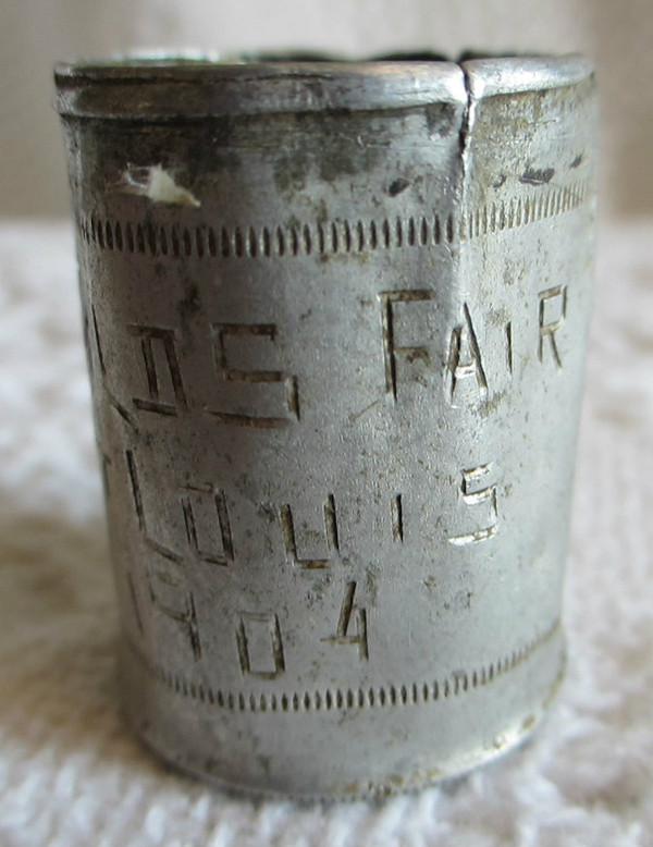 1904 St. Louis World's Fair Toothpick Holder