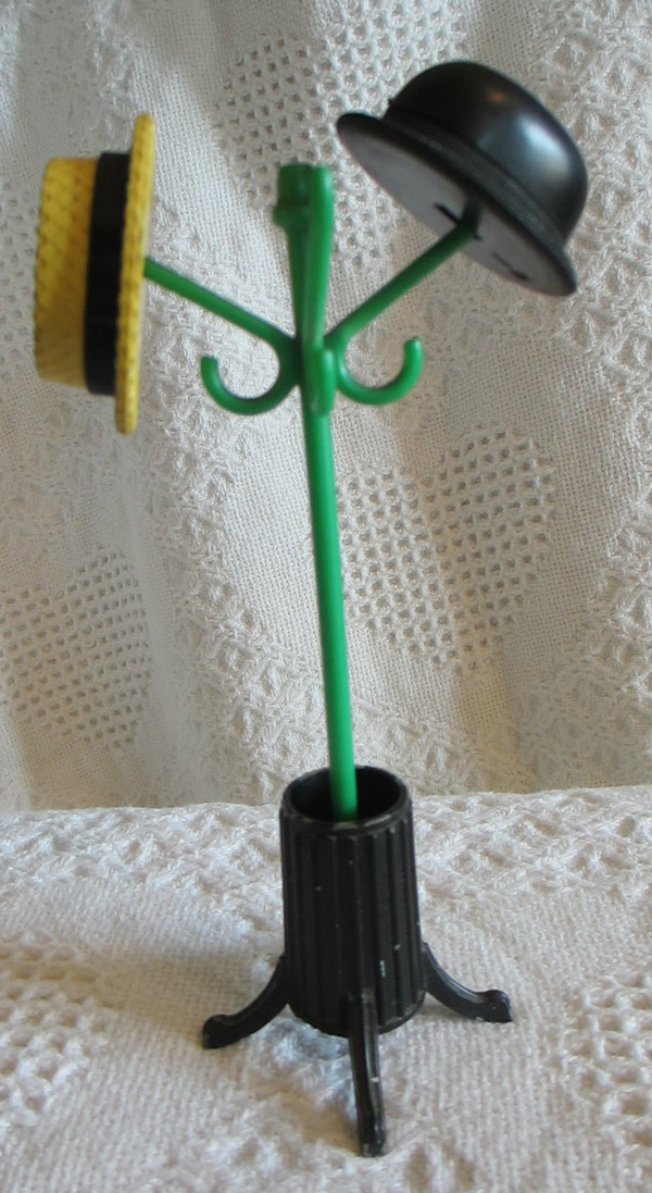 Salt and Pepper Hat Stand
