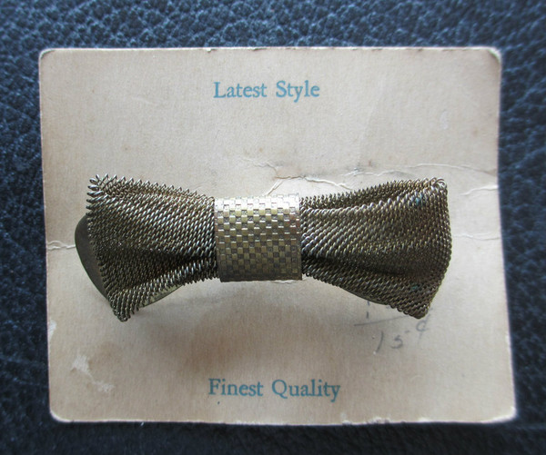 front view on original store card