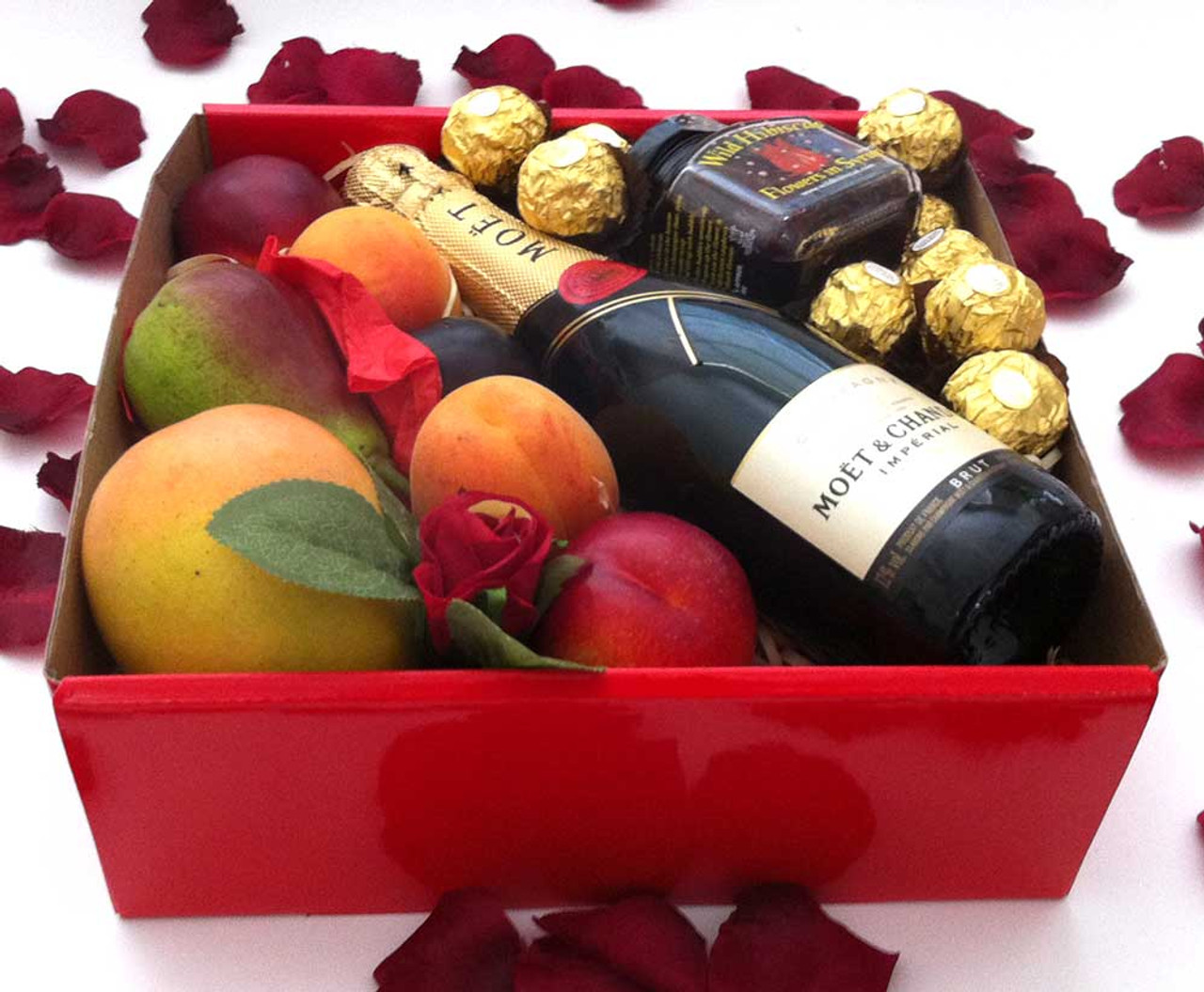 Chandon piccolo 200ml red gift box wild hibiscus flowers chocolates moet chandon piccolo 200ml red gift box wild hibiscus flowers chocolates izmirmasajfo Image collections