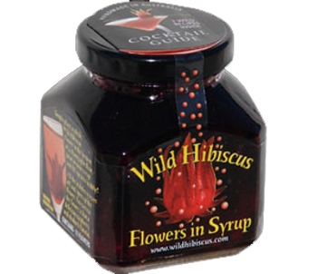 Wild Hibiscus Flowers In Syrup 250ml