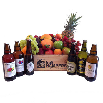 Fruit Hamper and Cider