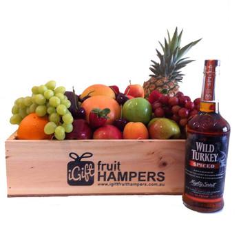 Wild Turkey Spiced Bourbon Gift - gifts for men