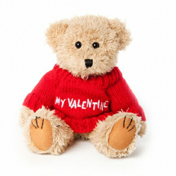 "Message Bear - ""My Valentine"" Red"