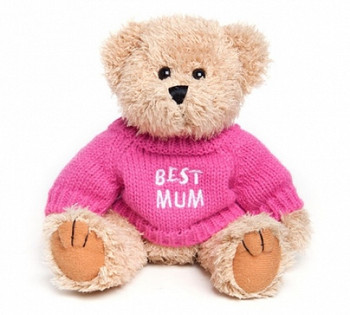 "Message Bear - ""Best Mum"""