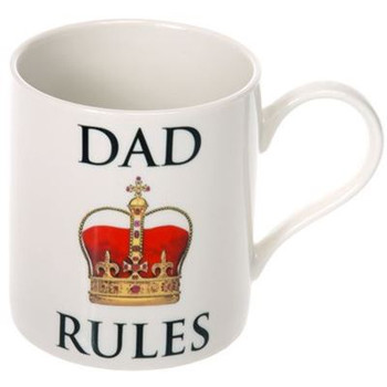Dad Rules Fine China Tea or Coffee Mug