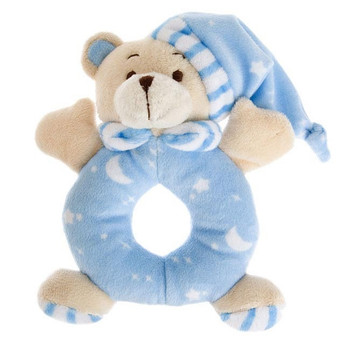 It's a baby boy gift rattle