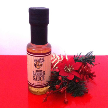 Pudding Lady - Brandy Liqueur Sauce - 100ml