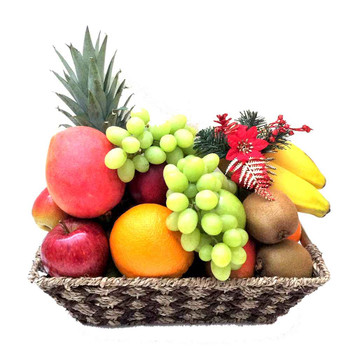 Christmas Fruit Basket Only - Free Shipping