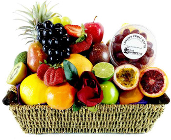 Easter hampers easter gifts delivered across australia easter fruit basket free shipping negle Choice Image
