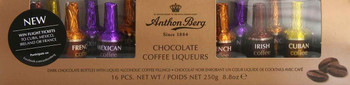 Anthon Berg Chocolate Coffee Liqueurs 250 g (16-Piece)