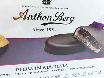 Chocolate Marzipan with Plum