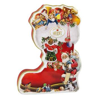 Heidel Xmas Boot Chocolate Tin Gift - 118g