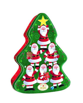 Heidel Xmas Tree Chocolate Tin Gift - 108g