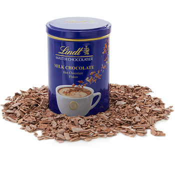 Lindt Hot Chocolate Flakes - Milk Chocolate 210g