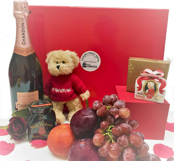 Chandon Valentine's Day Luxury Chocolate Hamper
