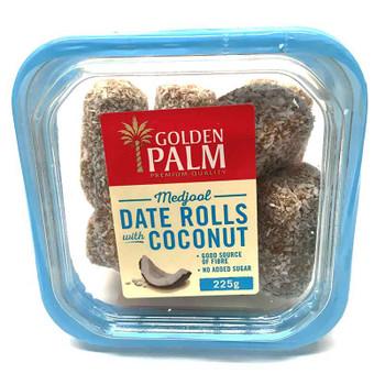 Medjool Date Rolls Coconut