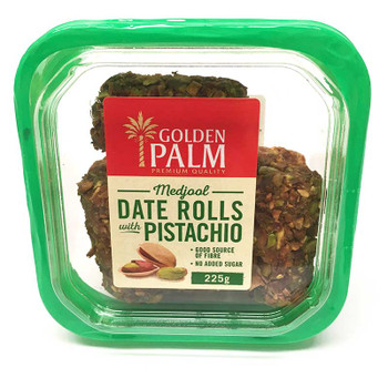 Date Rolls Pistachio