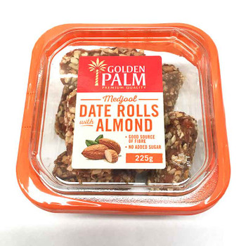 Medjool Date Rolls Almond