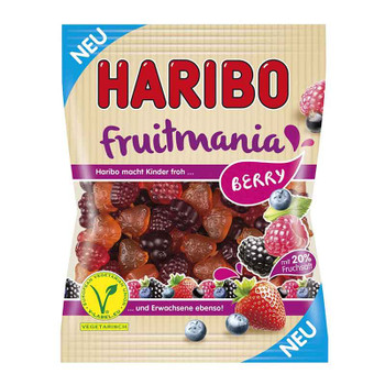 Haribo Fruitmania Berry 140g