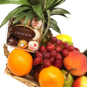 Small Chocolate Fruit Basket