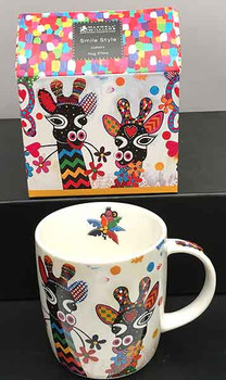 Giraffe Mug - Maxwell and Williams Coffee Mugs