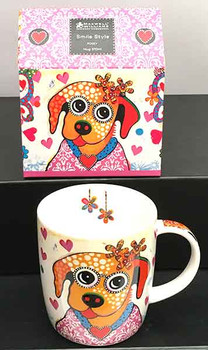 Dog Mug - Maxwell Williams Designer Mugs